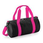 Bagbase MINI BARREL BAG Versity Style Duffle Small Bag Gym Travel Sports Holdall