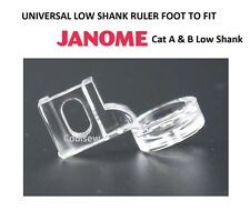 RULER WORK FRAME TEMPLATE QUILTING LOW SHANK FOOT Screw Type Fits JANOME Cat A B