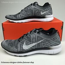 NIKE FREE TR FLYKNIT 5.0 TRAINERS WOMENS RUNNING OREO FREE RUN GYM SHOE RRP £130