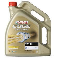 Castrol EDGE Titanium FST Turbo Diesel 5W-40  5 Litros Bidón