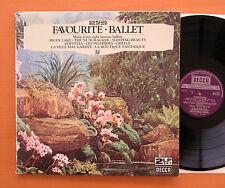DPA 515/6 Favourite Ballet Ansermet Monteux Maag Decca 2xLP Gatefold EXCELLENT