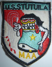 MASTER AT ARMS - Patch - USS TUTUILA - US NAVY SUPPORT SHIP - Vietnam War - 0951