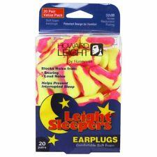 Howard Leight Single-Use Foam Earplugs for Sleeping, NRR 32, 20-Pairs #R-01681