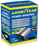 Goodyear Car Converter Power Inverter DC 12v AC 240v 3 Pin Plug 2 X USB Laptop