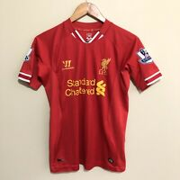 LIVERPOOL Warrior 2013/2014 Soccer Football Jersey Shirt Youth Boys Large