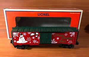 Lionel 6-36296 Happy Holidays 2005 Christmas Boxcar O O27 Gauge