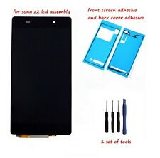 For Sony Xperia Z2 L50W D6502 D6503 LCD Display Touch screen Digitizer +adhesive