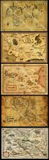 Fantasy Map Collection - 5 Poster Set