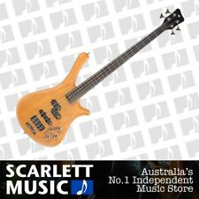 Warwick RockBass Fortress Bolt On 4 Electric Bass Guitar Honey Violin  *NEW*