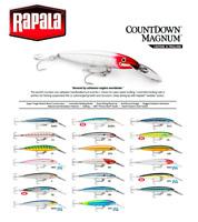 Rapala CountDown® Magnum Fishing Lure Deep Diving 7cm - 14cm  12g - 36g Variuos