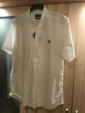BNWT Henri Lloyd XXXL White Short Sleeve Shirt