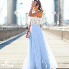 Damen Cocktailkleid Spitzekleider Abendkleid Ballkleid Sommerkleid Hochzeitkleid