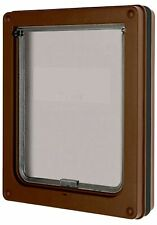 Dog Mate Medium Dog Door, Brown (215B)