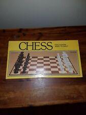 Vintage Whitman Chess Game 1981 4833! Yellow Box EUC