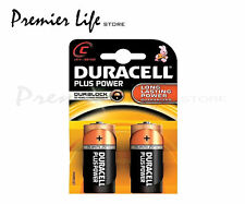 Duracell MN1400 Plus Power C Size LR14 Batteries--3 Packs of 2 (Total 6)