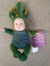 "Anne Geddes Cactus 1999 Baby Doll Flower Pot Babies 8"""