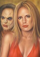 buffy the vampire slayer-4 original print a4 by duncan gutteridge