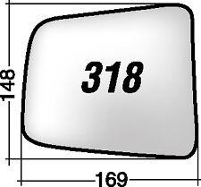 RANGER DAL '04 MAZDA B 2500 PICK-UP 318D RICAMBIO SPECCHIO DESTRO +BIADESIVO