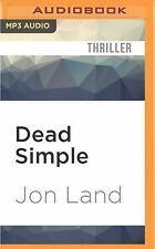 Blaine Mccracken: Dead Simple 9 by Jon Land (2016, MP3 CD, Unabridged)