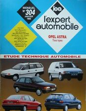 Revue technique OPEL ASTRA Essence Diesel + TURBO depuis 1998 EXPERT N° 304 1993