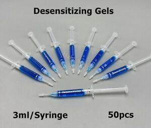 50x Dental Remineralization Gels Teeth Whitening Desensitizing Gel 3ml/Syringe