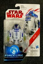 """STAR WARS TLJ Force Link R2-D2 Action Figure 3.75"""" inch HASBRO **New**"""