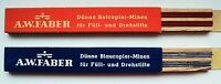 A.W.FABER LEADS MINEN1,18 mm COLOR RED/BLUE,2 TUBES,EACH 12 Pices and100 mm Long