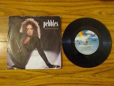 "Pebbles - Girlfriend (MCA 1987) 7"" Single BLUE LABEL"