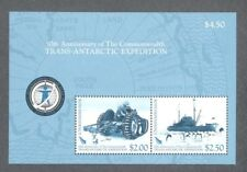 Ross Dependency-Trans Antarctic Expedition 50th Anniv mnh-tractor-Ship