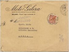 MILANO - MOTO GILERA 1955