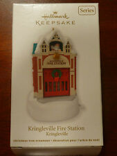 Hallmark 2012 Ornament - Kringleville Fire Station - #3 in Kringleville series