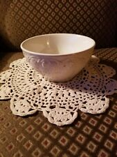 Set of 4 Longaberger Pottery Vintage Vine Cream Cereal Bowl New Without Box