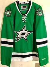 Reebok Women's Premier NHL Jersey Dallas Stars Team Green sz L