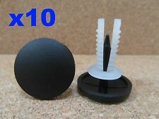 10 roof lining & carpet trim clips suitable for Ford Transit & Minibus 2001