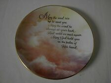 "Bradford Exchange Expressions of Faith Plate Collection ""In His Hands"""
