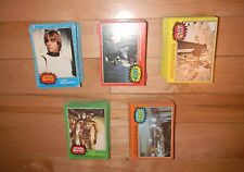 1977 Topps Star Wars Series 1-5 Complete 330 Fox Films Trading Card Set EX+