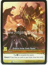 WoW - 1x Orders from Lady Vashj Extended Art - Archives