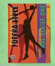 1995  FUTERA AUSTRALIAN BASKETBALL PROMTIONAL   CARD