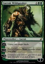 GARRUK LINGUA SELVAGGIA - GARRUK WILDSPEAKER Magic LRW Mint