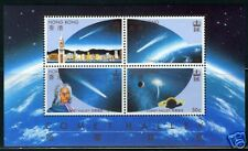 Hong Kong Sc#464a Sg#Ms 511 Halley'S Comet S/S Mint Nh