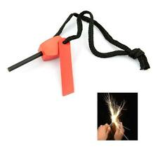Magnesium Flint Striker SAS Emergency Fire Lighter Survival Camping Scouts Army