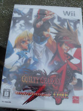 Guilty Gear XX Accent Core [2007] Brand New Factory Sealed Japan Wii Import