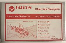 Falcon Clear-Vax Canopies 1/48 World War 2 Fighters Set No.3