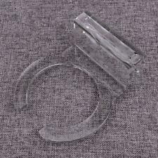 4inch Clear Fish Aquarium Marine Sump Filter Sock Holder Bag Bracket Plastic