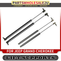 Set of 2 Hatch Tailgate Lift Supports Struts for Jeep Cherokee 84-94 Wagoneer
