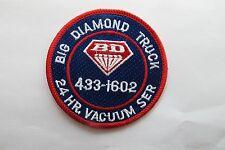 BIG DIAMOND TRUCK,24HR,VACUUM SER,TRUCK DRIVER PATCH