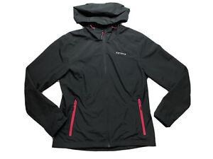 Icepeak Jacket Womens 16 Bomber Full Zip Hood Water Wind Resistant Adult