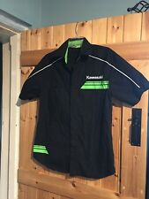 "New Kawasaki Racing Shirt Size S/M 34""-36"" Max Chest Approx 10 Unisex"