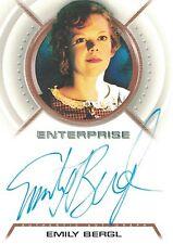 Star Trek Enterprise: A30 Emily Bergl (Bethany) autograph