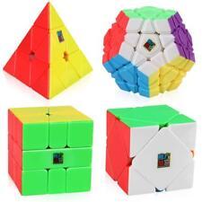 Moyu Speed Cube Bundle Megaminx Pyramid Skewb Square-1 Stickerless Cube